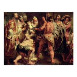 Carte Postale Les apôtres, St Paul et le St Barnabas chez Lystra