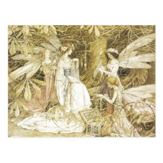 Carte Postale Les bijoux de fée