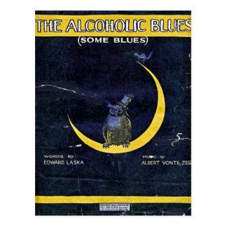 Carte Postale Les bleus alcooliques