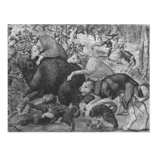 Carte Postale Les chasses de Maximilian, Capricorne