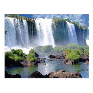 Carte Postale Les chutes d'Iguaçu
