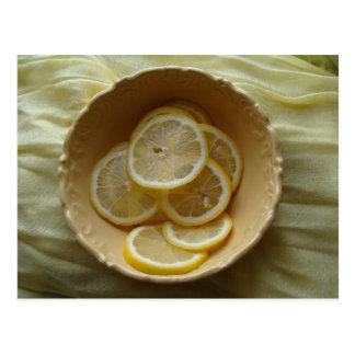 Carte Postale Les citrons sont beaux