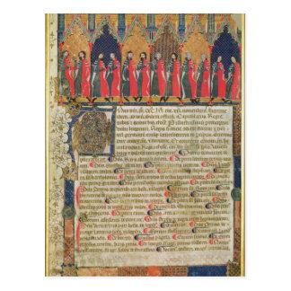 Carte Postale Les conseillers municipaux de Toulouse, 1369