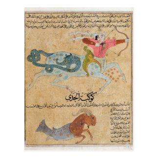 Carte Postale Les constellations de Sagittaire et