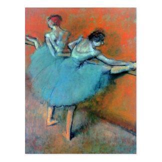 Carte Postale Les danseurs à la barre dégazent par