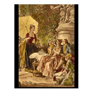 Carte Postale Les Delices de la Maternite', Jean_Engravings
