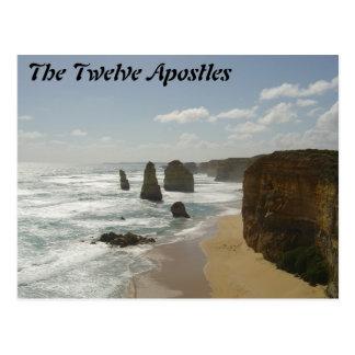 Carte Postale Les douze apôtres