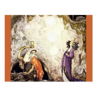 Carte Postale Les enfants de fée