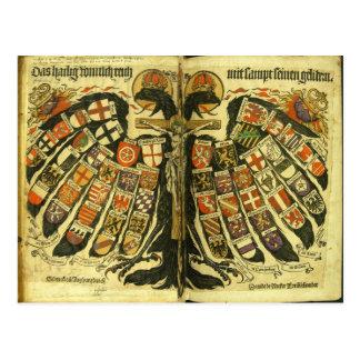 Carte Postale Les états du Saint Empire Romain Jost de Negker