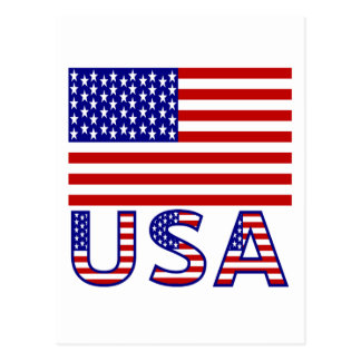 USA Flag with Name