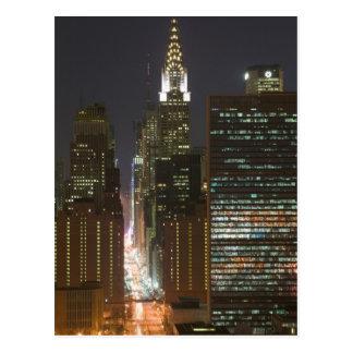 Carte Postale Les Etats-Unis, New York City, vue de Midtown avec
