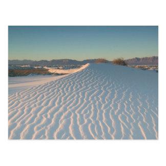 Carte Postale Les Etats-Unis, Nouveau Mexique, sables blancs