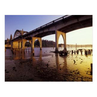 Carte Postale Les Etats-Unis, Orégon, Florence. Pont de Siuslaw