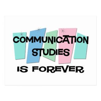 Carte Postale Les études de communication est Forever