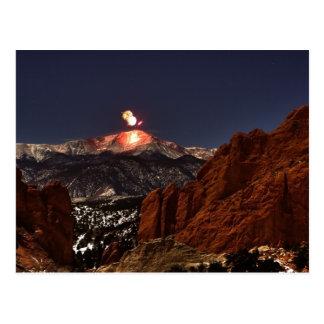 Carte Postale Les feux d'artifice du jour des nouvelles années