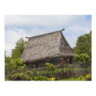 Carte Postale Les Fidji, île de Viti Levu. Culturel polynésien