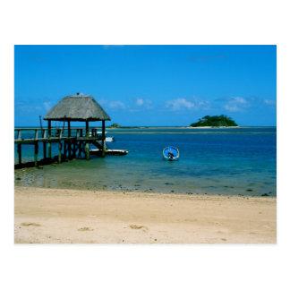 Carte Postale Les Fidji - paradis trouvé sur l'île de Malolo