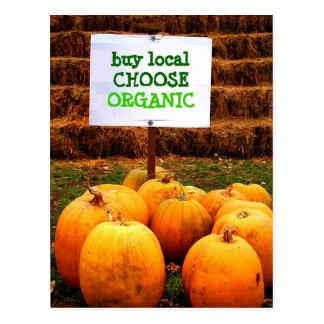 Carte Postale Les gens du pays d'achat choisissent organique