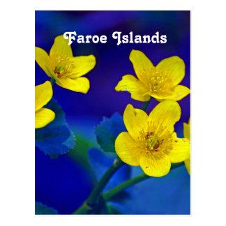 Carte Postale Les Iles Féroé