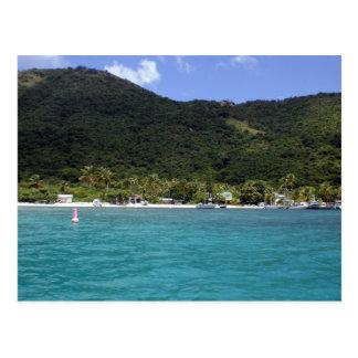Carte Postale Les Îles Vierges britanniques