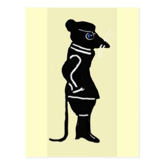 Carte Postale Les méandres de rat