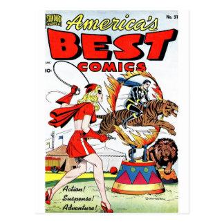 Carte Postale Les meilleures bandes dessinées #31