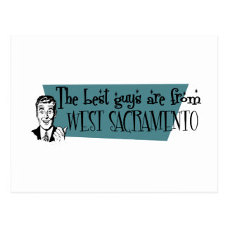 Carte Postale Les meilleurs types sont de Sacramento occidental