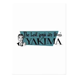 Carte Postale Les meilleurs types sont de Yakima
