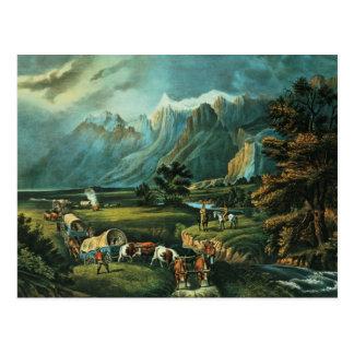 Carte Postale Les montagnes rocheuses