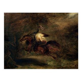 Carte Postale Les morts vont rapidement, 1830