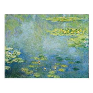 Carte Postale Les nénuphars de Monet