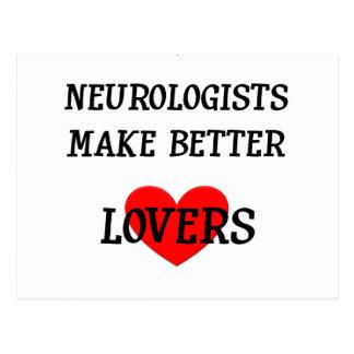Carte Postale Les neurologues font de meilleurs amants