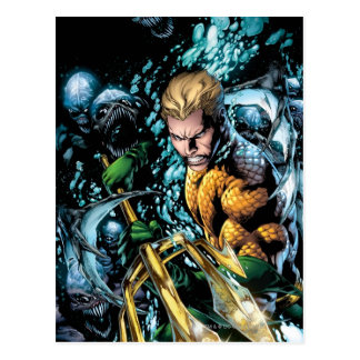 Carte Postale Les nouveaux 52 - Aquaman #1