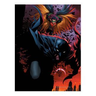 Carte Postale Les nouveaux 52 - Batman et Robin #1