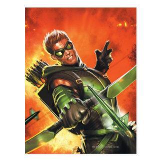 Carte Postale Les nouveaux 52 - la flèche verte #1