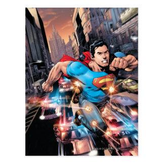 Carte Postale Les nouveaux 52 - Superman #1 2