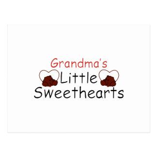 Carte Postale Les petites amoureuses de la grand-maman