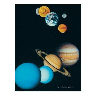 Carte Postale Les planètes