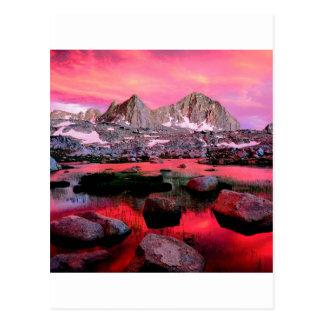 Carte Postale Les Rois Canyon la Californie de bassin de Dusy de