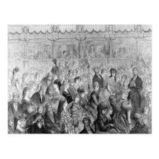 Carte Postale Les stalles, opéra de jardin de Covent