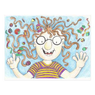 Carte Postale Les sucettes de Velma