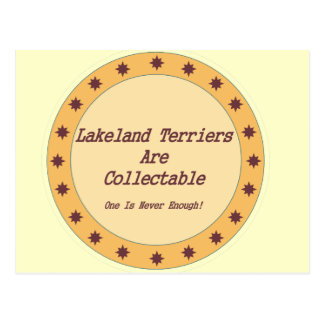 Carte Postale Les terriers de région des lacs sont collectables