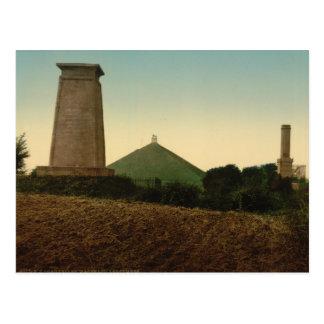 Carte Postale Les tombes, Waterloo, Belgique
