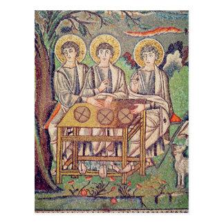 Carte Postale Les trois anges