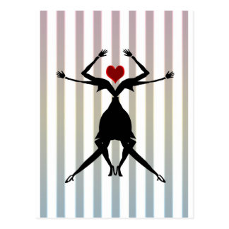 Carte Postale Lesbiennes de danse