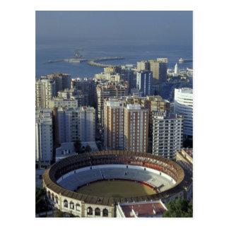 Carte Postale L'Espagne, Malaga, vue d'Andalousie de Plaza de
