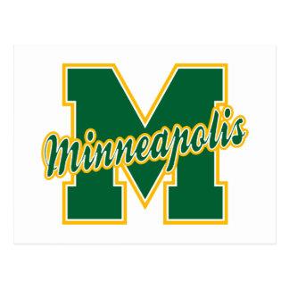 Carte Postale Lettre de Minneapolis