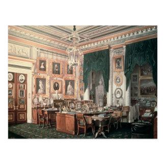 Carte Postale L'étude d'Alexandre III au palais de Gatchina