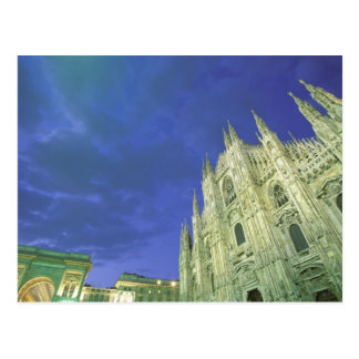 Carte Postale L'Europe, Italie, Lombardia, Milan. Le Duomo,