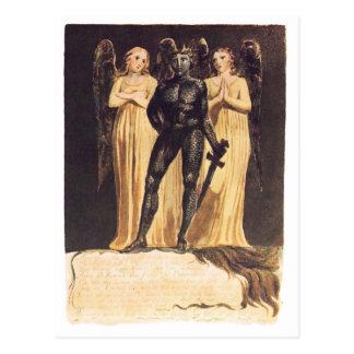 Carte Postale L'Europe. Une prophétie. William Blake
